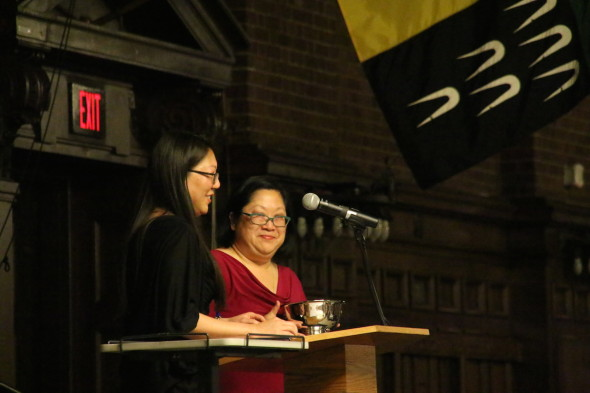 AAAYA President Tiffany Co and Distinguished Service Award recipient Karen Narasaki