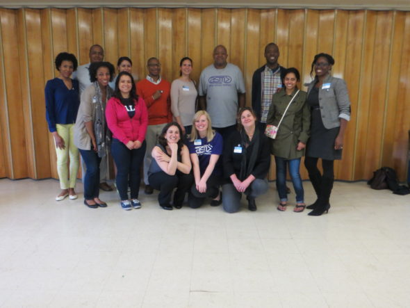 Volunteers at the 2015 Yale Day of Service in Chicago. The Chicago Chapters of the Yale Black Alumni Association (YBAA) and Yale Latino Alumni Association (YLAA), in collaboration with After School Matters, hosted an Interview and Resume Workshop for teens.